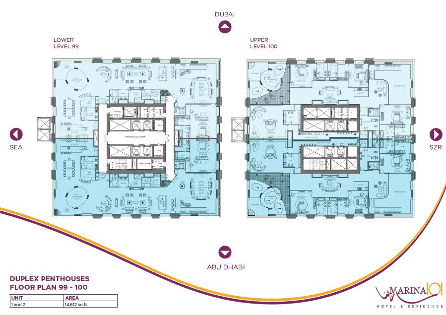 Sheffield holdings floor plans for 100 floors floor 97